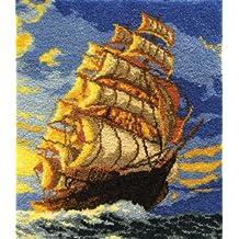 MCG Textiles 37696 Clipper Ship Latch Hook Rug Kit