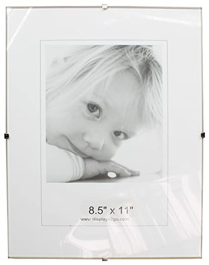 Amazon 8 12 X 11 X 14 Inch Tempered Glass Frameless Clip