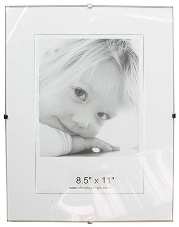 Amazoncom Displays2go 8 12 X 11 X 14 Inch Tempered Glass