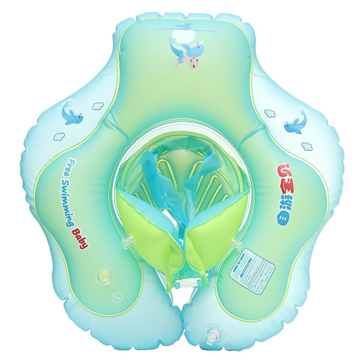 JCHUNL Aufblasbare Schwimmen-Ring-Schwimmen-Schwimmbecken-Wasser-Schwimmen-Bad-Pool-Trainer der Größe New Hot (Farbe   L)