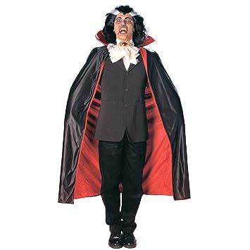 Disfraz de Halloween fangtasia capa Drácula Cape: Amazon.es ...
