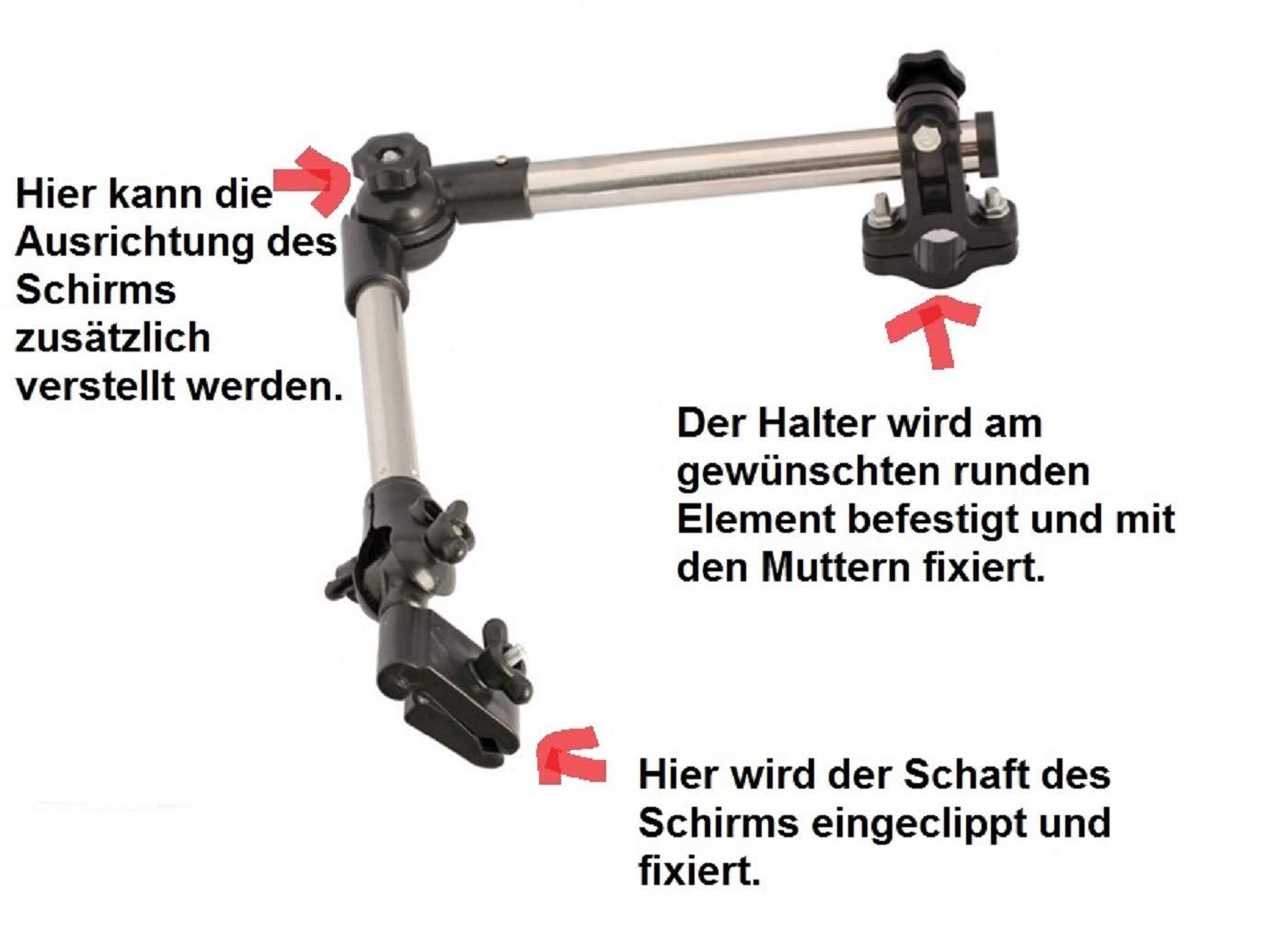 LL-Golf® Soporte para paraguas para bicicleta / silla / Andador ...