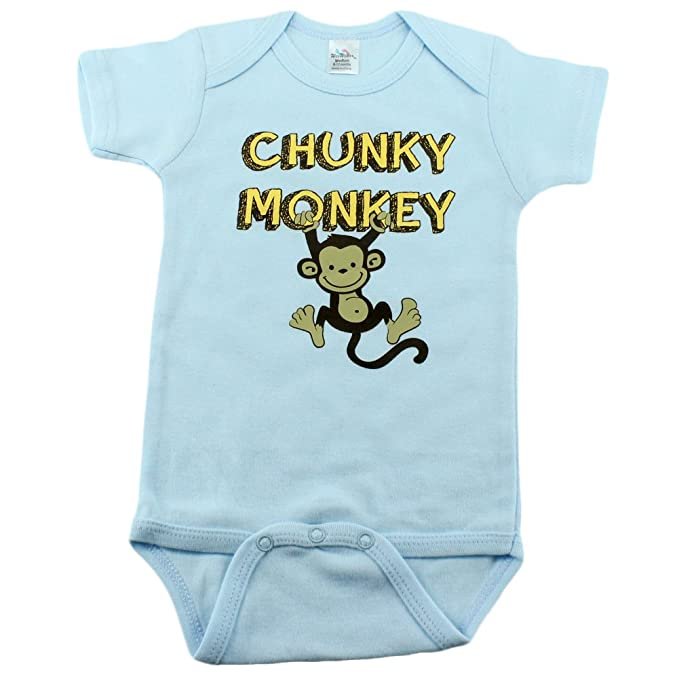 c61522470 Amazon.com: Baby Boys Onesies with Monkey, and I'm The Little Brother  Onesies: Clothing