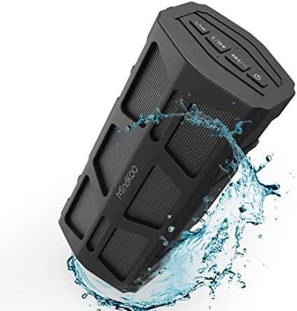 Bluetooth Speakers Portable Wireless TWS,15h HD Sound and Bass Arisen ROCKROCK Handsfree Call Shower Speaker Bluetooth Waterproof Small Outdoor Speaker for Beach Party Pool Travel Bluetooth 5.0