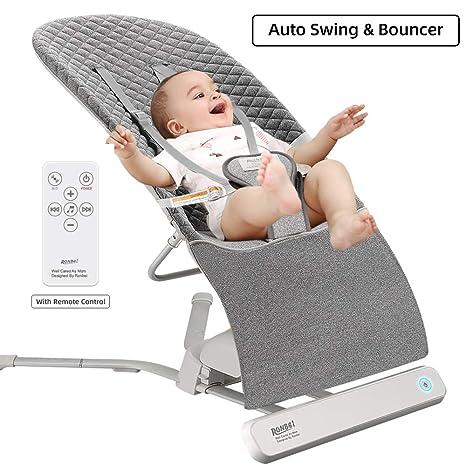 Amazon.com: Columpio de bebé RONBEI, columpio automático ...