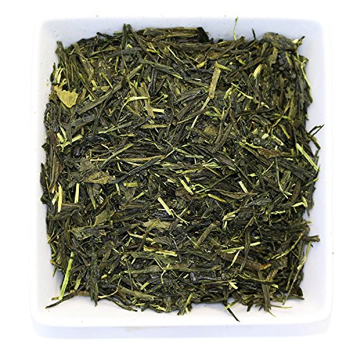 Tealyra - Bancha Ujitawara - Japanese Green Loose Leaf Tea - Light Taste - Low Caffeine - Organically Processed - 110g (4-ounce) (Tea Green Bancha)