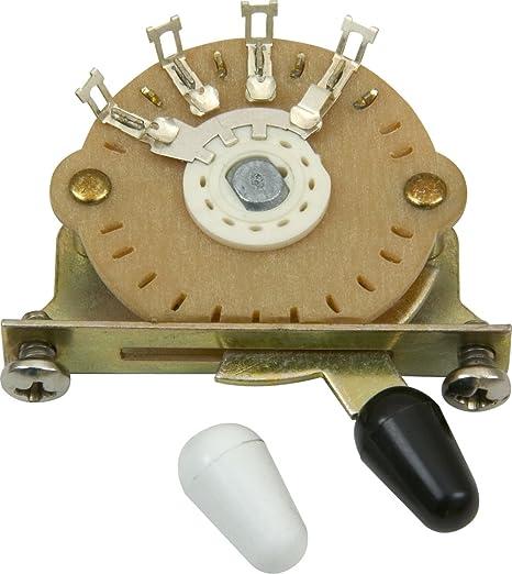 DiMarzio EP1105 - Selector de pastilla para guitarra, 3 posiciones ...