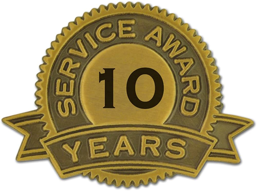 PinMart 10 Years Of Service...