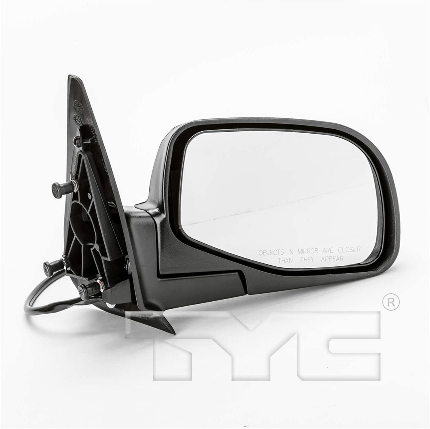 TYC 3040031-1 NSF Version Black//PTM Outside//Exterior Mirrors