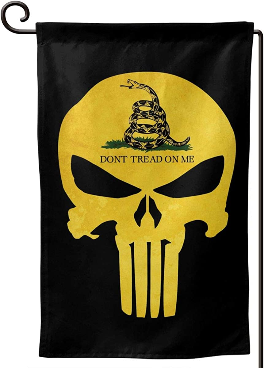 BS2U Don't Tread On Me Flag Garden Banner Flag House Flag for Garden & Home Decorations 12.5x18 in