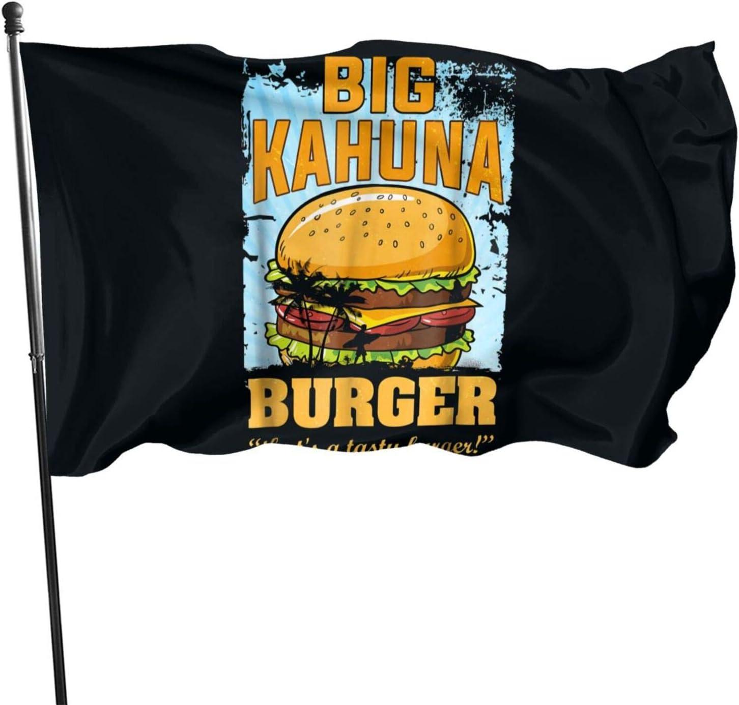 Wadeworth Big Kahuna Burger Flag Garden Flag 3 X 5feet(90cm150cm) Holiday Decoration Garden Banner