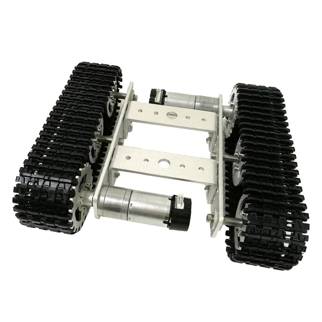 FLAMEER TS100 Intelligente Roboter Auto Tank Aluminium-Kettenfahrgestell Auto DIY Kit Für Wettbewerb; DIY-Kreationen
