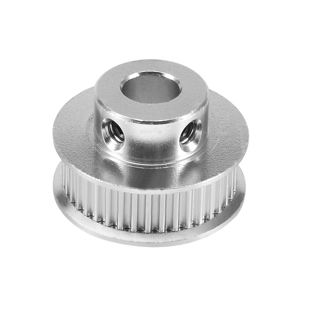 uxcell Aluminum GT2 36 Teeth 8mm Bore Timing Belt Pulley Flange Synchronous Wheel for 3D Printer