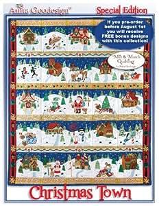 Amazon Com Anita Goodesign Embroidery Christmas Town
