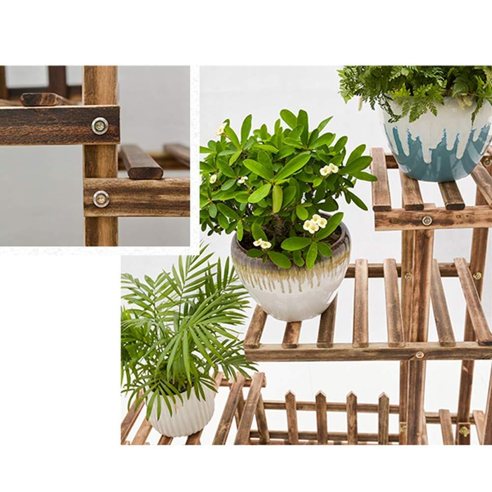 Guolipin Blumenregal para el jardín Patio Esquina Interior ...
