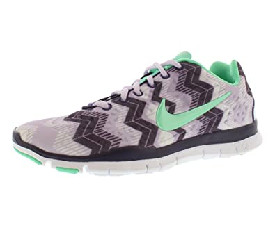 83e7321c7d12 ... clearance womens nike free tr fit 3 print training shoes violet frost  purple dynasty green 10f39