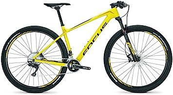 Focus Raven Elite 29R TWEN tyniner Mountain Bike 2017, amarillo/negro: Amazon.es: Deportes y aire libre