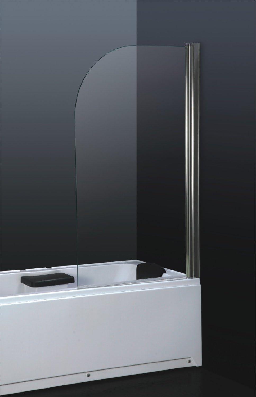 6 mm vidrio templado de seguridad con texto en inglés de ducha de ...