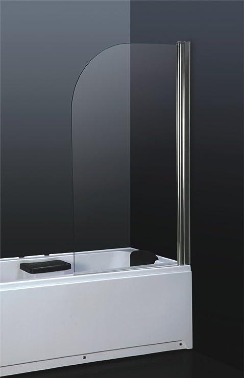 6 mm vidrio templado de seguridad con texto en inglés de ducha de pantalla de cristal para baño: Amazon.es: Hogar