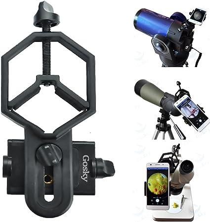 Montaje Adaptador De Teléfono Celular Universal Gosky-compatible con el monocular Binocular
