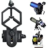 Gosky Universal Smartphone Adapter Mount for for Spotting Scope Telescope Microscope Binocular Monocular - Big Type for Eyepiece Diameter 32mm to 62mm - For Iphone Sony Samsung Moto Etc