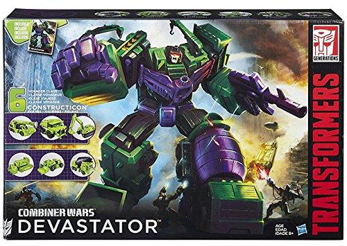 Transformers Generations Combiner Wars Devastator Figure Set(Discontinued by manufacturer) (Transformers Toy Devastator)