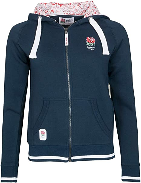 Tri distribution England Rugby Full Zip Junior Supporters Hoody