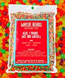 16 Ounces, 1 Pound, Over 45,000pcs Water Gel Beads, For Orbeez Spa, Kids, Soft, Safe, Non Toxic, Creative and Decorative Aqua for Marbles, Games, Vases, Plant Fillers and Crafts