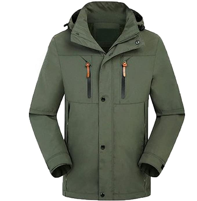 winter parka herren wasserdicht green