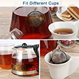 2PCS Stainless Steel Mesh Tea Ball Infuser, Siasky