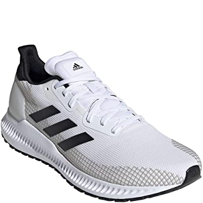 adidas Men's Solar Blaze Running Shoes Cloud White/Cloud White/Core Black 10   Road Running