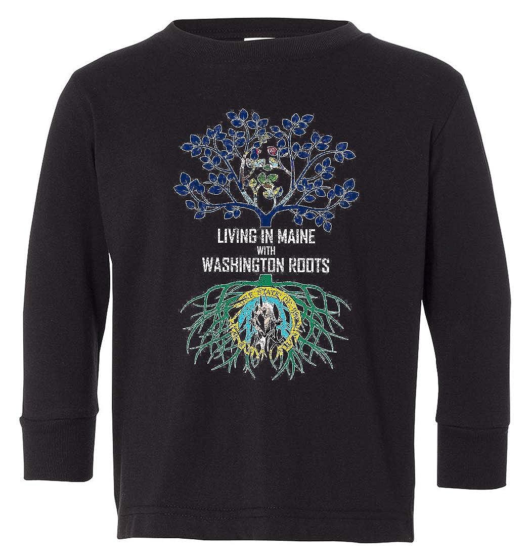 Tenacitee Babys Living in Maine Washington Roots Shirt