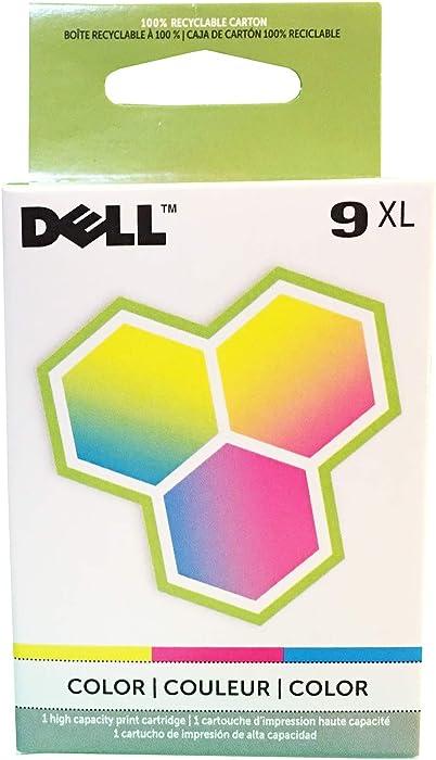 Dell MK993, 310-8387, 330-0972 (Series 9) Color High Capacity OEM Genuine Inkjet/Ink Cartridge - Retail