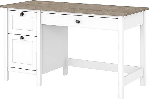 Reviewed: Bush Furniture Mayfield 54W Computer Desk