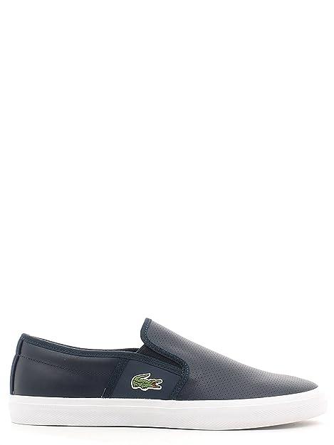 Lacoste - Zapatillas para hombre Azul azul marino: Amazon.es: Zapatos y complementos