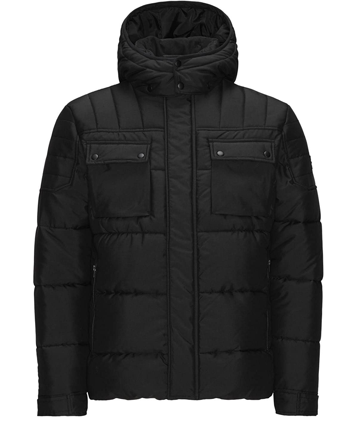 Jack & Jones Jacke Jcocam Puffer Jacket Winter schwarz