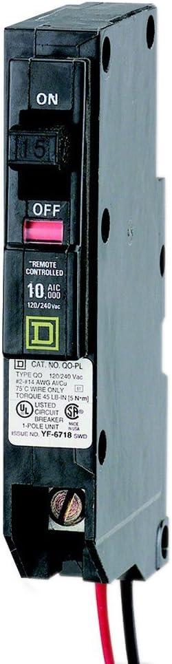 NEW! Lots of 5 Square D QO260PLILC Circuit Breaker Remote Control 60 Amp