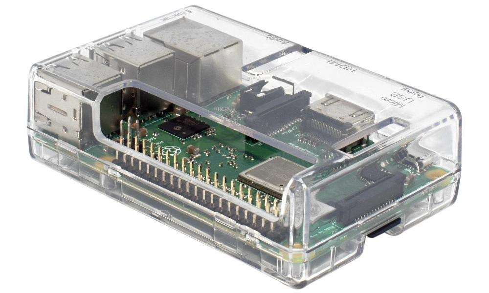 SB Components Raspberry Pi 3 Model B+ Transparent Case - Access to all ports by sb components (Image #2)
