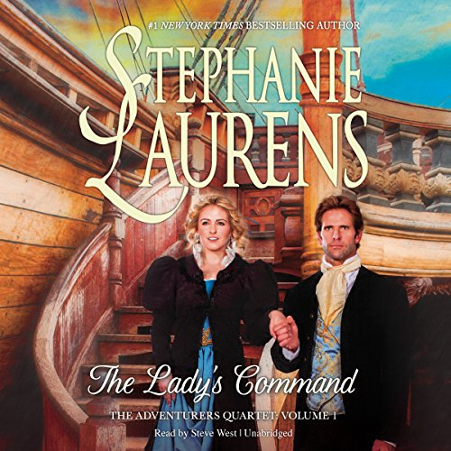 The Lady's Command: Library Edition (Adventurers Quartet) by Blackstone Audio Inc