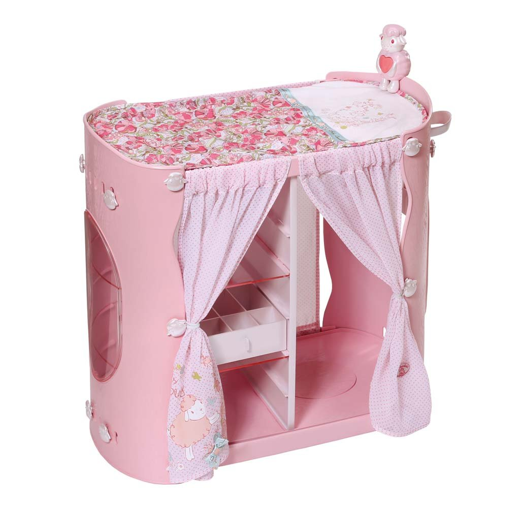 Baby Annabell – Commode 2 en 1 – Table à Langer avec Rangements pour Poupon 46 cm 794111
