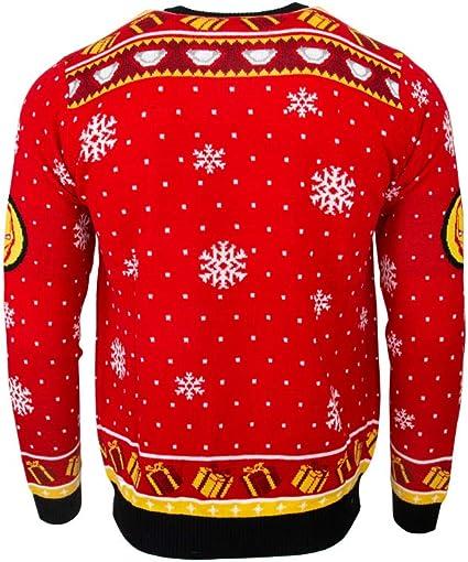 Spider-Man Ugly Xmas Sweater Marvel Comics Superhero Holiday Christmas Red
