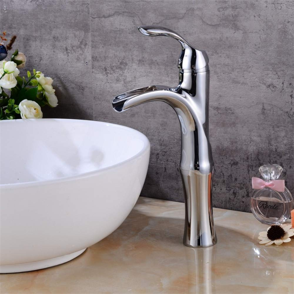 Bathroom Sink Tap Waterfall Chrome Brushed Bathroom Faucet High Chrome Basin Mixer Brushed Waterfall Basin Faucet Sink Mixer