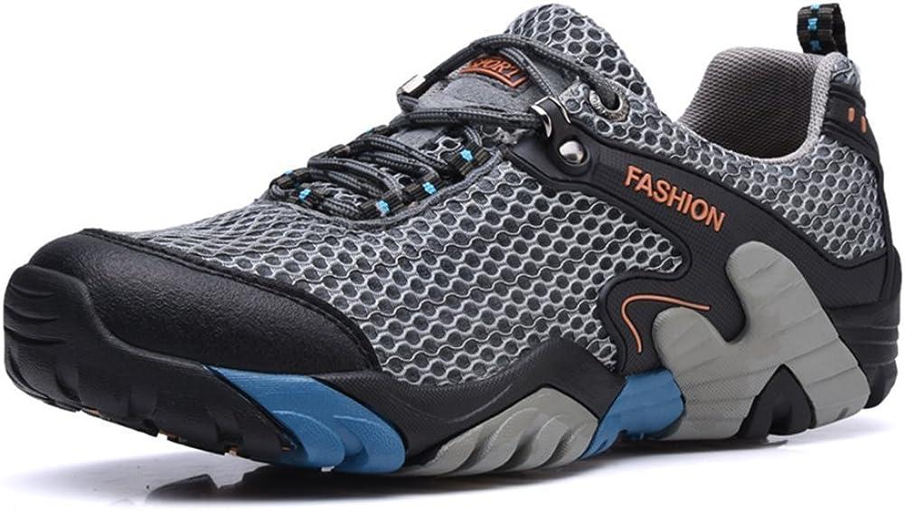 Zapatos de Senderismo Hombres Impermeable de Malla Ligera Acampar Senderismo Zapatillas de Caminata para Subir el Deporte de Viaje Deportivo Running Zapatos de Agua: Amazon.es: Zapatos y complementos