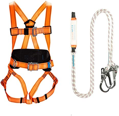 JOSN Arnés de Seguridad de protección anticaídas cinturón de ...