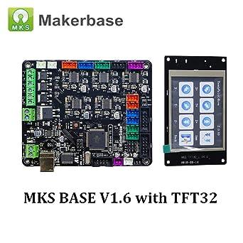 Amazon.com: Impresora 3D MKS Base V1.6 Placa base integrada ...