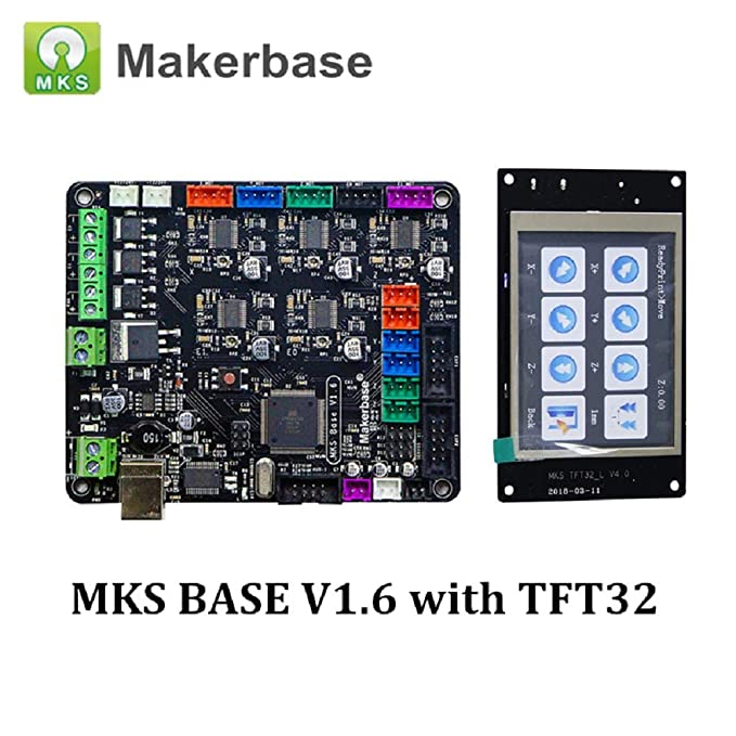 Amazon.com: Impresora 3D MKS Base V1.6 Placa base integrada ...