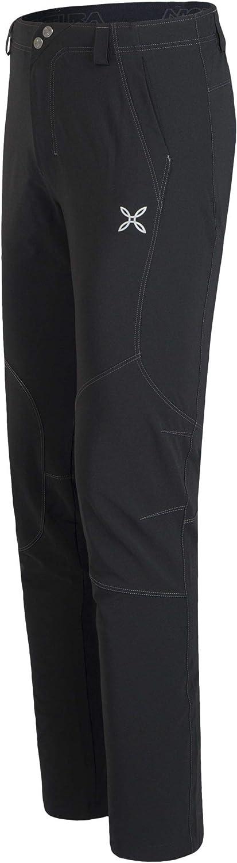 MONTURA Pantalone Lungo Free Adventure Pants Uomo Nero//Piombo