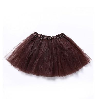 e612a094d Anam - Falda, tutú, para fiesta, de puro tul, para baile, vestido de ballet,  para mujeres/niñas: Amazon.es: Ropa y accesorios