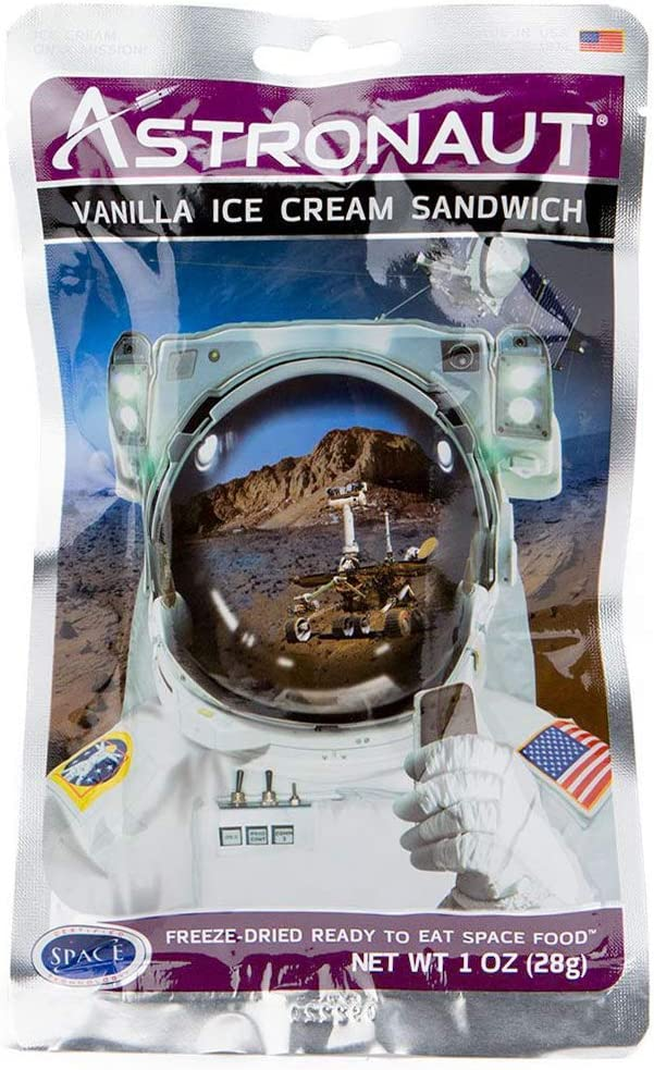 Backpacker's Pantry Astronaut Vanilla Ice Cream Sandwich (One Serving Pouch)