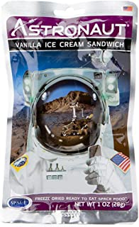 product image for Astronaut Vanilla Ice Cream Sandwich (One Serving Pouch)